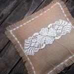 Wedding Ring Bearer Pillow ..