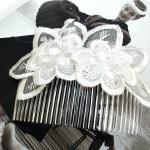 Bridal Head Piece/Comb in E..